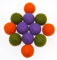 Great dryer balls. No need for fabric softner.