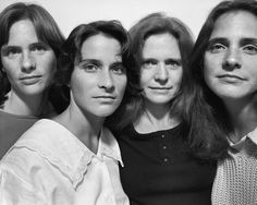 1986, Cambridge, Mass. The Brown Sisters: Forty Portraits in Forty Years. Photographed by Nicolas Nixon. Fraenkel Gallery and Pace MacGill Gallery, New York.