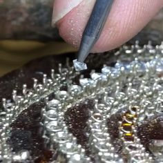 The creation isn't always glamorous, but the end result most certaintly is 😍💎💕💕💕 Girls Jewelry, Bridal Jewelry, Gemstone Jewelry, Diamond Jewelry, Jewelry Gifts, Jewelery, Silver Jewelry, Jewelry Accessories, Jewelry Design