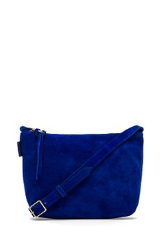 Obey Adieu Suede Bag in Cobalt from REVOLVEclothing