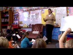 Collaborative Writing: In this classroom clip, Albuquerque teacher Ali Nava leads her students through a written summary of the story by writing a cooperative paragraph. Allowing ELL students to work in group settings can give them the opportunity to learn from their peers as well as practice writing in a meaningful context.