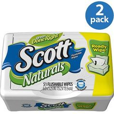 I'm learning all about Scott Moist Wipes Tub at @Influenster!