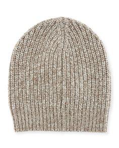 Cable-knit Cashmere Beanie Brunello Cucinelli 6SW2XprekY