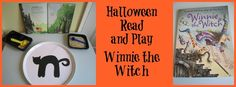 We have teamed up with 25 bloggers to share activities and crafts based on our favourite Halloween picture books. My immediate choice - Winnie the Witch.