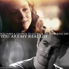 Whether you ship Steroline or Stelena there is no denying these 2. They have a beautiful chemistry and she was so selfless this episode ❤️ #thevampirediaries #tvd #tvdfamily #tvd7 #tvds7 #fandom #stalerie #steroline #stelena #stefansalvatore #valerietulle #paulwesley #elizabethblackmore #thecw