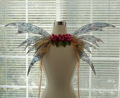 Iridescent Fairy Wings-Adults and Children (Made by Request) by chloe6788 on Etsy https://www.etsy.com/listing/109764154/iridescent-fairy-wings-adults-and