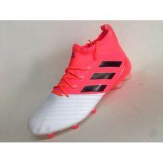 new style d734a 76810 Barato Adidas Ace 17.1 Primeknit FG Leather Blanco Rosado Botas De Futbol