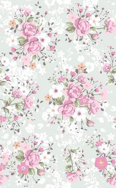 #papelestampado #pattern #papeldecorativo #wallpaper #background #fondo #flores #flowers