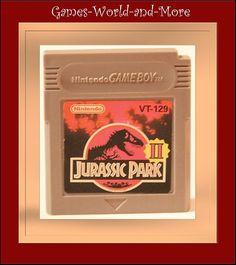 Jurassic Park 2 für Gameboy,Game Boy Spiel,Ansehen!