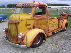 Love this truck. Would anybody trade me a COE for my rat rod pickup?