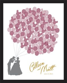 Disney Wedding Guest Boards by 52ndStreetDesigns on Etsy