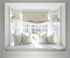 window treatment ideas for bay windows in living room high back chairs the ultimate guide to blinds roman shades 5 ways can beautify your home seat curtainswindow treatments