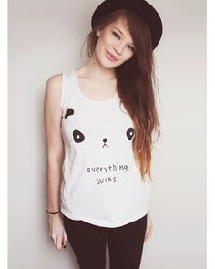 Everything sucks! cute top for bad days