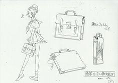 Utena - Character design