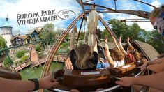 Europa Park Vindjammer 360° VR POV Onride Park, Fair Grounds, Travel, Europe, Viajes, Parks, Destinations, Traveling, Trips