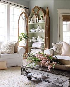 The Perfect Balance Of Beauty And Comfort Country French Style Easily Fits Into Elegant Homes Houses Alike Living Is In A