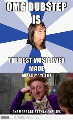 Who knows someone like this? #dubstep #skrillex educate these fools