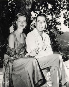 Lauren Bacall y Humphrey Bogart Hooray For Hollywood, Hollywood Stars, Classic Hollywood, Old Hollywood, Hollywood Glamour, Lauren Bacall, Old Movie Stars, Classic Movie Stars, Classic Movies