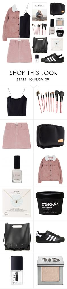 """Newchic 3.2"" by jesicacecillia ❤ liked on Polyvore featuring Dogeared, Gucci, adidas, NARS Cosmetics, Urban Decay, newchic and lovenewchic"