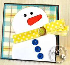 Lisa's handmade cards...try this for moms christmas cards
