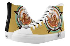 Indian Head Test Pattern High Top Sneakers by NDGRags on Zazzle. Indian Head, Top Shoes, Converse Chuck Taylor, Old School, High Tops, Pattern Design, High Top Sneakers, Inspired, Shopping