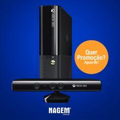 XBOX360 como você nunca viu. #XBOX #PromoNAGEM #OfertaNAGEM