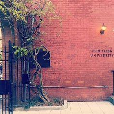 New spot for #NYU graduation photos, perhaps?