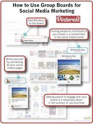 Using group boards for social media marketing