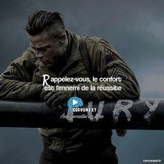 Rappelez-vous le confort est l'ennemi de la réussite. - http://cervonext.fr/ - Follow : @cervonext