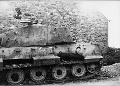 Tiger 213 was used as a platoon command tank by SS-Obersturmführer Helmut Dollinger during the final battles around La Gleize