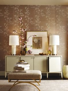 Barbra Berry, Designer - Must have wallpaper in a home!