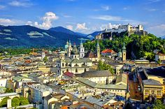 Salzburg, Austria amazing so quaint! What a lovely romantic location. The Sound of Music was filmed there!