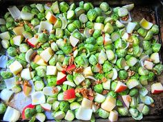 Stacey Snacks: Good Stuff: Brussels Sprouts w/ Apples & Walnuts