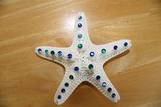 Jeweled Sea Star Barrette $15