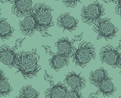 See our Garden Bloom Dark Navy on Aqua fabric available from Design Team. Aqua Fabric, Dark Navy, Magenta, Bloom, Garden, Prints, Lime, Design, Garten