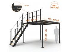 T8 Mezzanine + S54-T8 Stairs kit