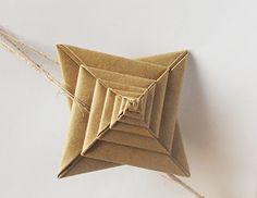 origami - espiral de papel
