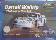DARRELL WALTRIP RARE SEALED 1/5000 #17 PARTS AMERICA MONTE CARLO  1/24 #REVELL