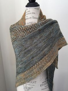 """Exordium means """"the beginning of anything."""" So, I thought it was a fitting name for my first shawl pattern release. Easy Knitting, Knitting Stitches, Knitting Yarn, Knitting Patterns, Knitting Needles, Knit Or Crochet, Crochet Shawl, Crochet Vests, Crochet Cape"""