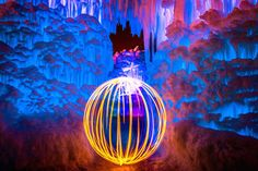Magical Fire and Ice Castle-4 Scenic Photography, Night Photography, Landscape Photography, Utah, Norway Hotel, Old Country Churches, Ice Castles, Weird Pictures, Snow Queen