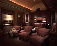 1000 images about salas de cine en casa on pinterest home theaters ultra modern homes and - Sala cine en casa ...