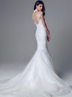 Bluemarine Wedding Collection 2014 #blush #ombre #weddingdresses #brides