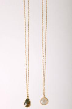 Whitley Designs, Long pendant necklace, vivadivaboutique.com