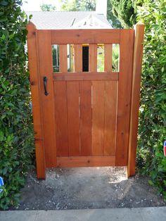 Craftsman Entry Gate