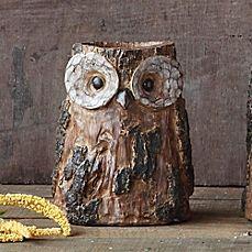 image of Owl Vase