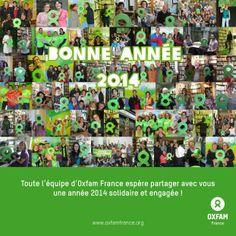 Bonne année de la part de toute l'équipe d'Oxfam France France, Baseball Cards, Happy New Years Eve, Early French