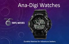 An exclusive fashion brand, presenting newly introduced watches