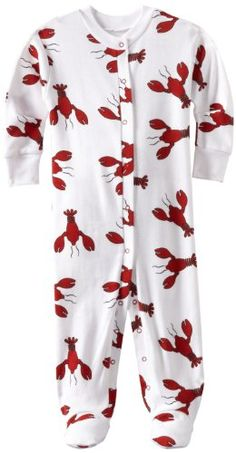New Jammies Unisex-baby Infant Lobster Snuggly Pajama - List price: $33.00 Price: $24.36 Saving: $8.64 (26%) + Free Shipping