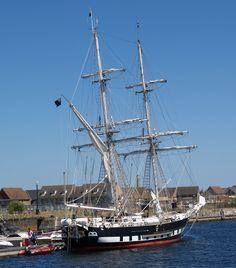 Sailing Ship Chatham Marina Kent England  [shared]