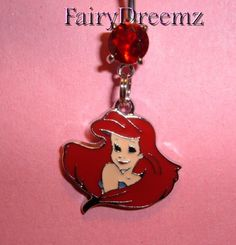 Ariel Little Mermaid Princess Disney Belly Navel Ring Jewelry on Etsy, $7.00